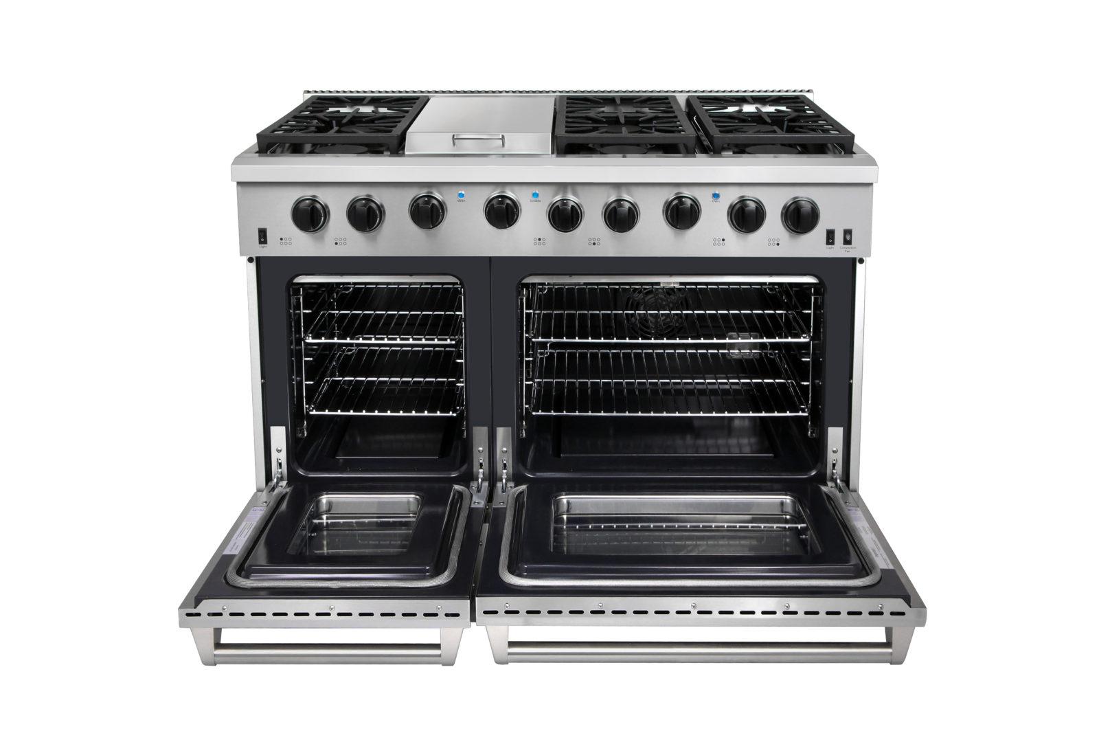 LRG4801U – 48 Inch Gas Range Double Oven