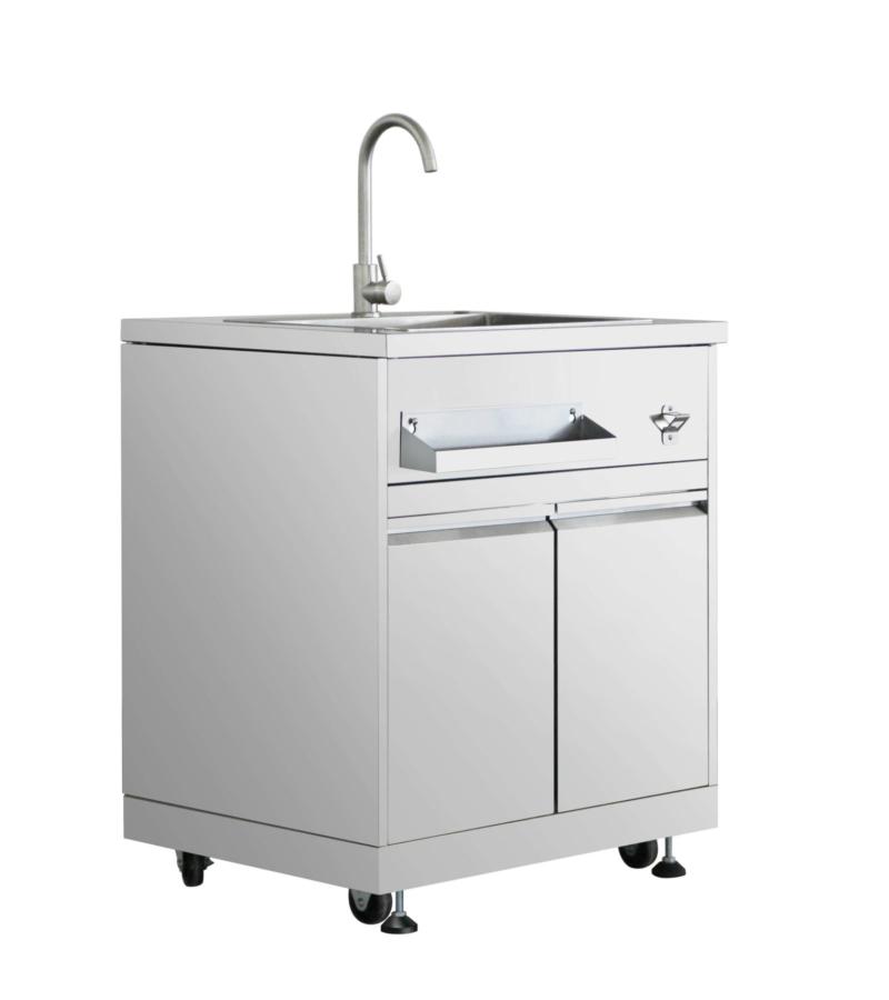 Outdoor Kitchen Sink Cabinet In Stainless Steel Thor Kitchen